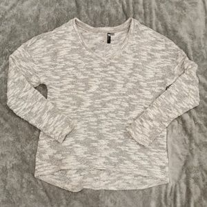 Kut From The Kloth | Gray Marled V-Neck Sweater